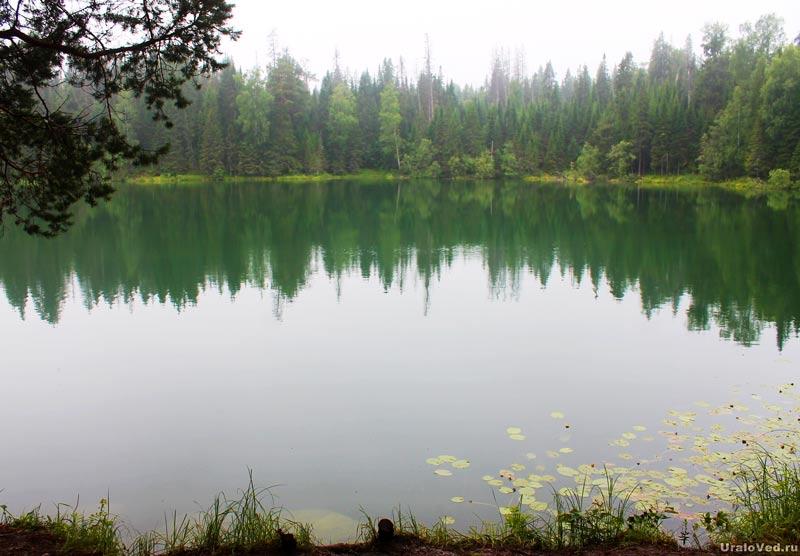 Озеро Бездонное под Нижним Тагилом
