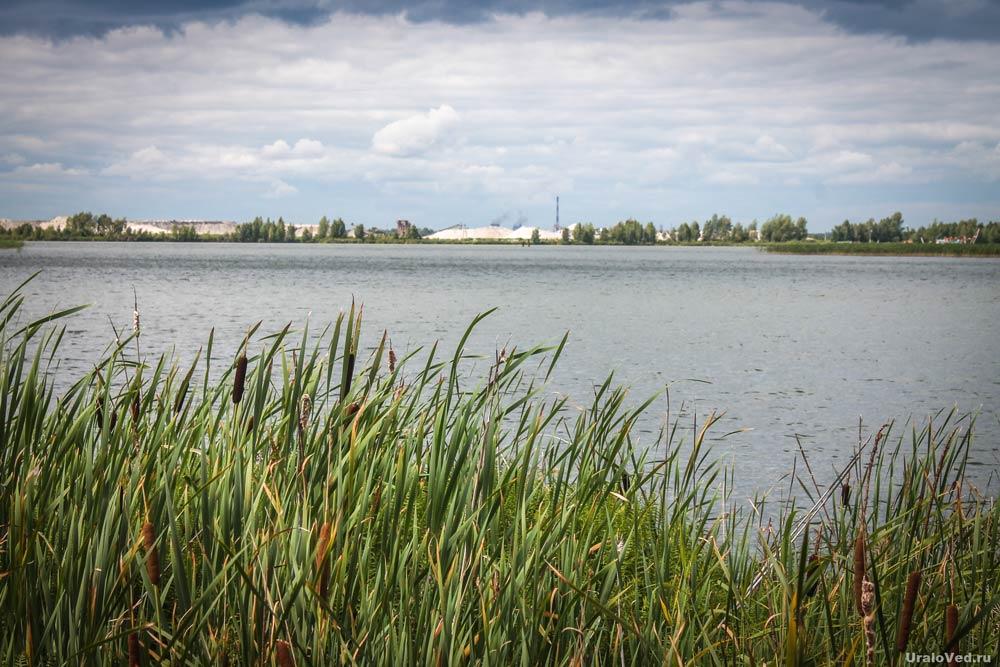 Озеро Андреевское около Тюмени