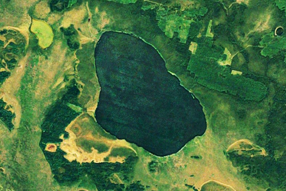 Озеро Большая Индра