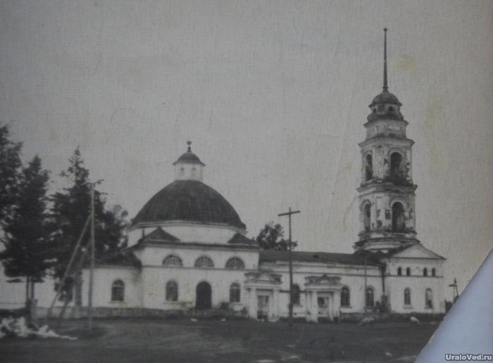 Церковь в селе Юго-Конево