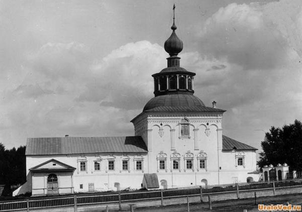 Крестовоздвиженский собор, старое фото